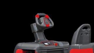 Der Lenker des P40 - P60 C von Linde Material Handling kann individuell eingestellt werden.