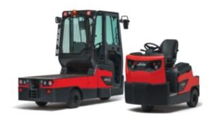 Fahrersitz-Schlepper P60 - 80 und W08 Plattformwagen von Linde Material Handling