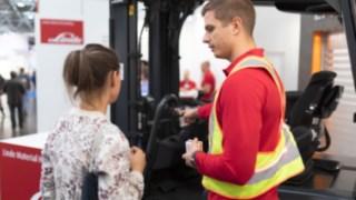 Linde Safety Guard Zusatzausrüstung für Gabelstapler