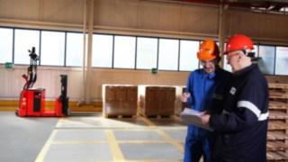 Produktionsmeeting bei BASF