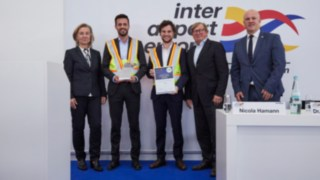 Linde Material Handling erhält Excellence Award auf der inter airport Europe 2019