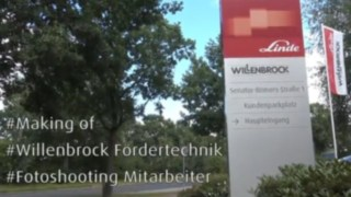 Video zum Making of Fotoshooting Mitarbeiter