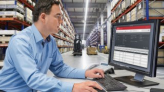 Flottenmanagementsystem connect von Linde Material Handling