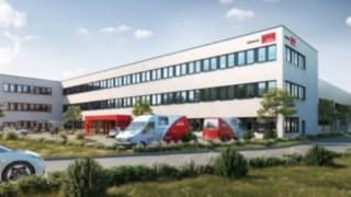 Visualisierung Neubau Willenbrock Fördertechnik in Burgwedel